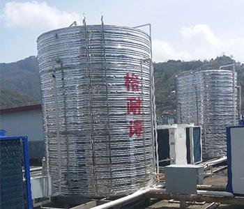 空气能热水工程安装案例