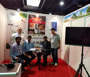 Group photo of exhibitors from Pakistan