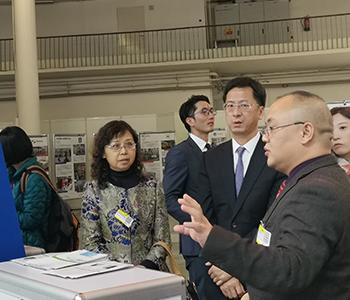 2019捷克布尔诺工业机械展览会-张建敏大使到馆巡视