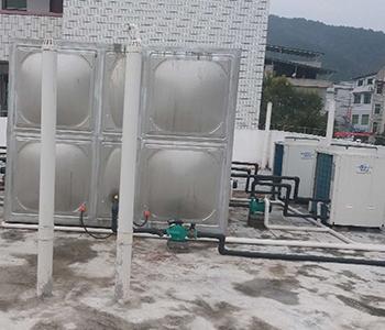方形水箱空气能项目