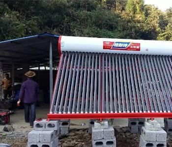 太阳能热水器安装案例
