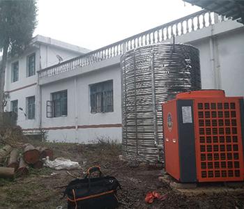 学校空气能热水工程案例